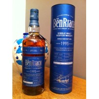 BENRIACH 20 ANS 1995 CASK 7377 FOR BELGIUM 51,8%